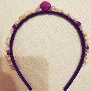 COPY - Handmade mermaid seashell headband